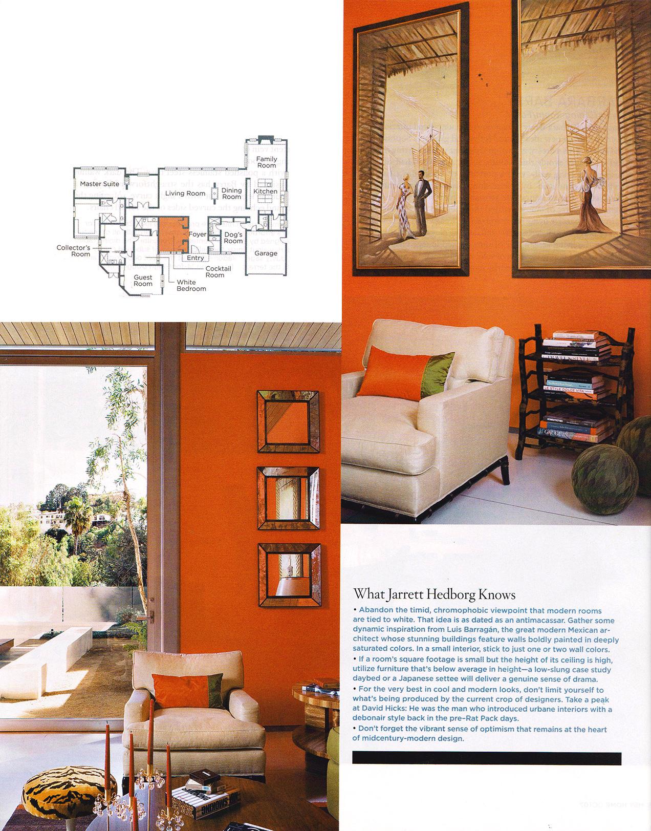 Jarrett Hedborg Interior Design Los Angeles